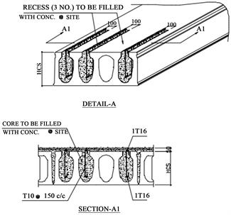 Web Shear Strengthening Technique of Deep Precast
