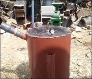 Development of a Batch-Type Biogas Digester Using a