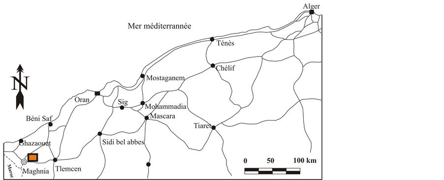 Characterization And Valorization Of Two Algerian Bentonites In - Bentonite us map