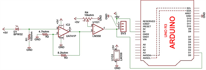 Design of a li fi transceiver schematics of li fi receiver ccuart Gallery