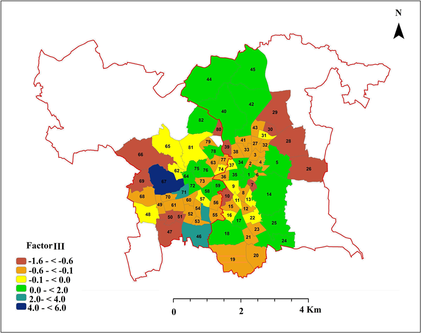 GIS-Based Factorial Ecology and Social Public Space of the