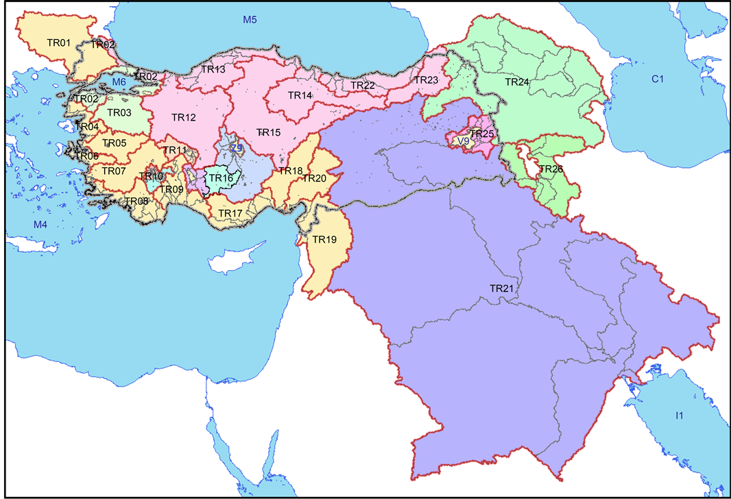 Determination Of Watershed Boundaries In Turkey By GIS Based - River basins of the world