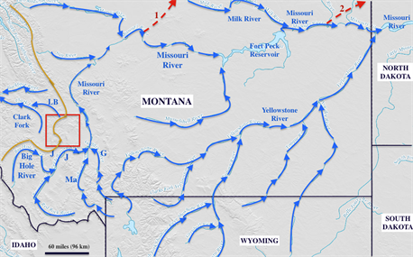 Analysis Of Mountains Passes Along The East West Continental Divide