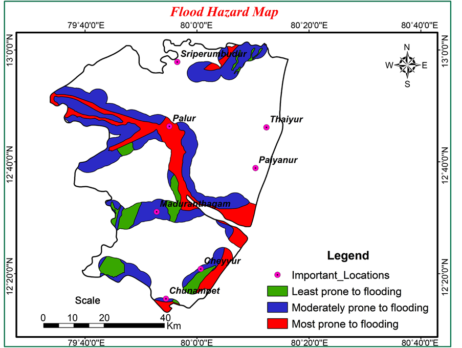 study and analysis of chennai flood 2015 using gis and multicriteria technique
