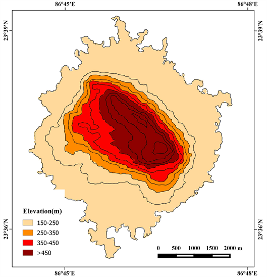 Soil Geomorphology of Garpanchkot Hill Area and Its